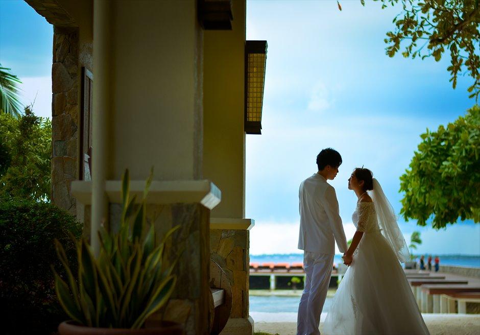コスタベラ・トロピカル・ビーチ・ホテル<br /> ビーチにて挙式前撮り