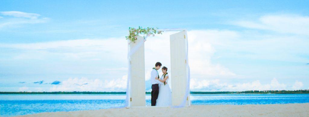 セブ島セレモニーフォトウェディング<br /> Caohagan Island Heaven's Door<br /> ~カオハガン島ヘブンズ・ドア