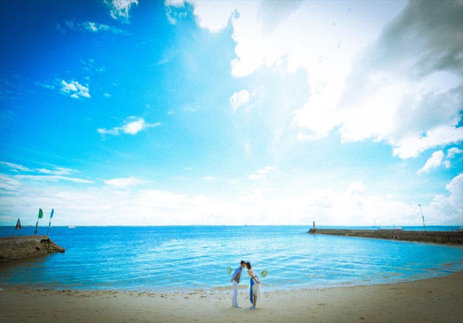 プランテーション・ベイ・リゾート&スパビーチにてフォトウェディング