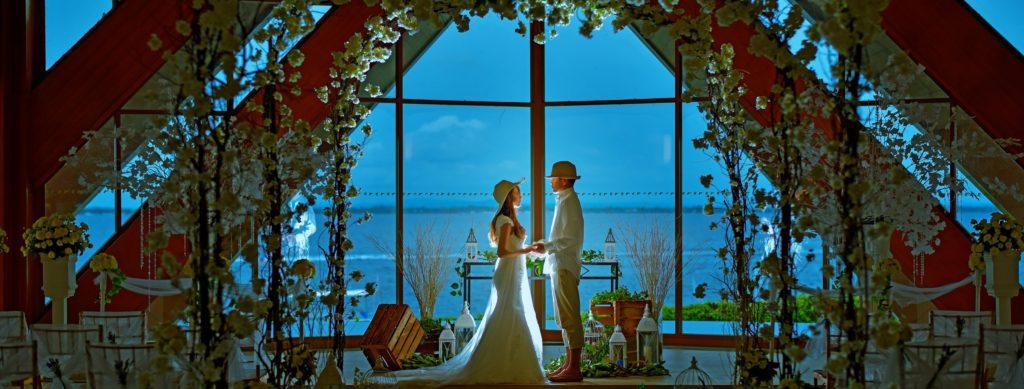 セブ・チャペル挙式会場<br /> Shangri-La&#039;s Mactan Resort&amp;Spa<br /> ~シャングリラ・マクタン・リゾート&スパ