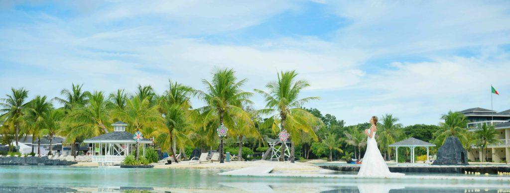 セブ島ラグーン・ウェディング会場<br /> Plantation Bay Resort&Spa<br /> ~プランテーション・ベイ・リゾート&スパ