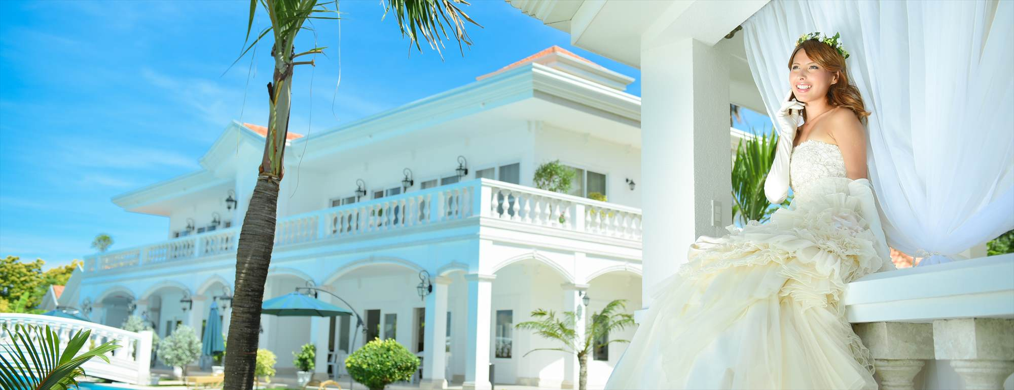 セブ島・邸宅ウェディングCasa Blanca by the Sea Wedding~カサ・ブランカ・バイ・ザ・シー挙式