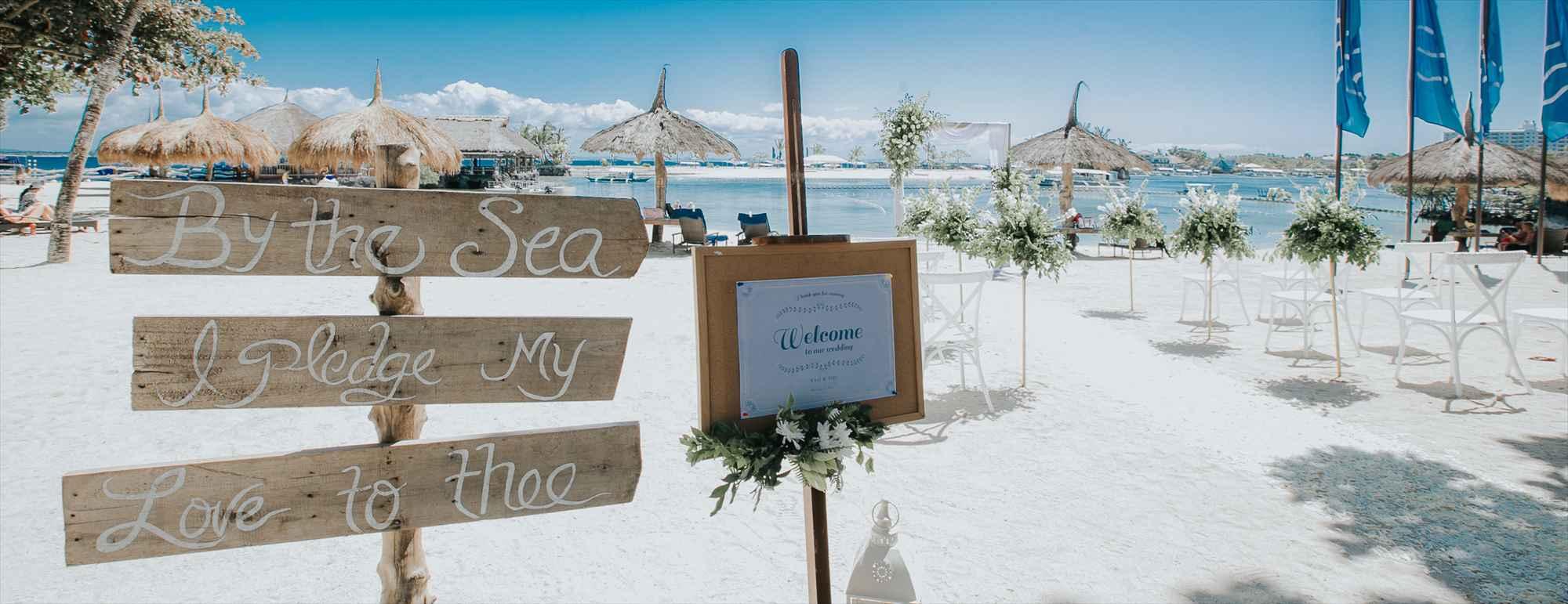 セブ島ビーチ・ウェディングBluewater Maribago Beach Wedding~ブルーウォーター・マリバゴ・ビーチ挙式
