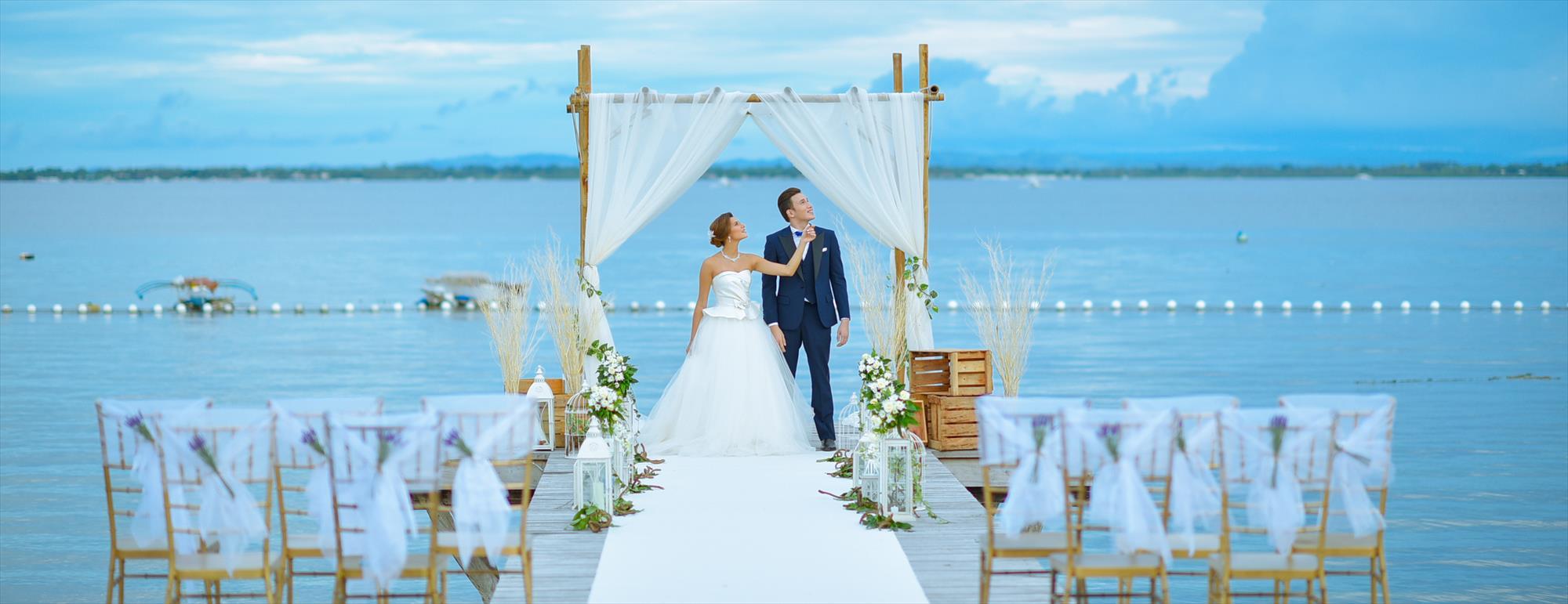 セブ島オーシャン・ウェディングChateau by the Sea Wedding~シャトー・バイ・ザ・シー挙式