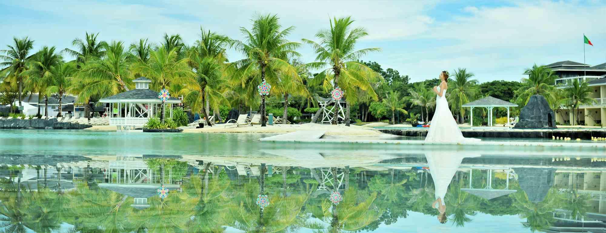 セブ島ラグーン・ウェディングPlantation Bay Resort&Spa Wedding~プランテーション・ベイ挙式