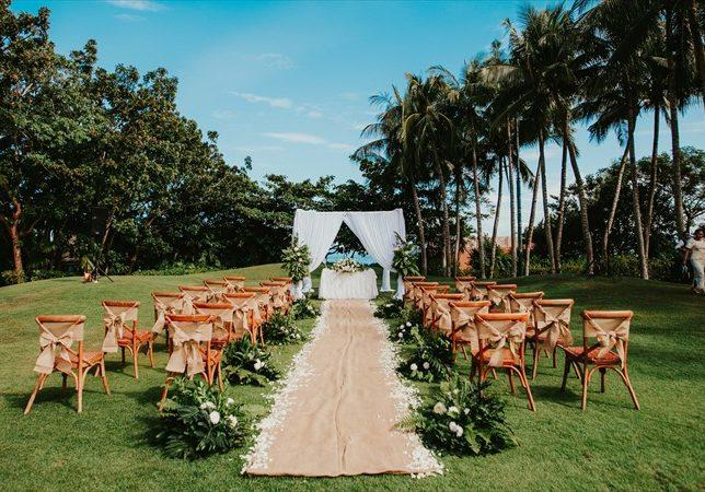 セブ島挙式・結婚式 ガーデンウェディング シャングリラ・マクタン