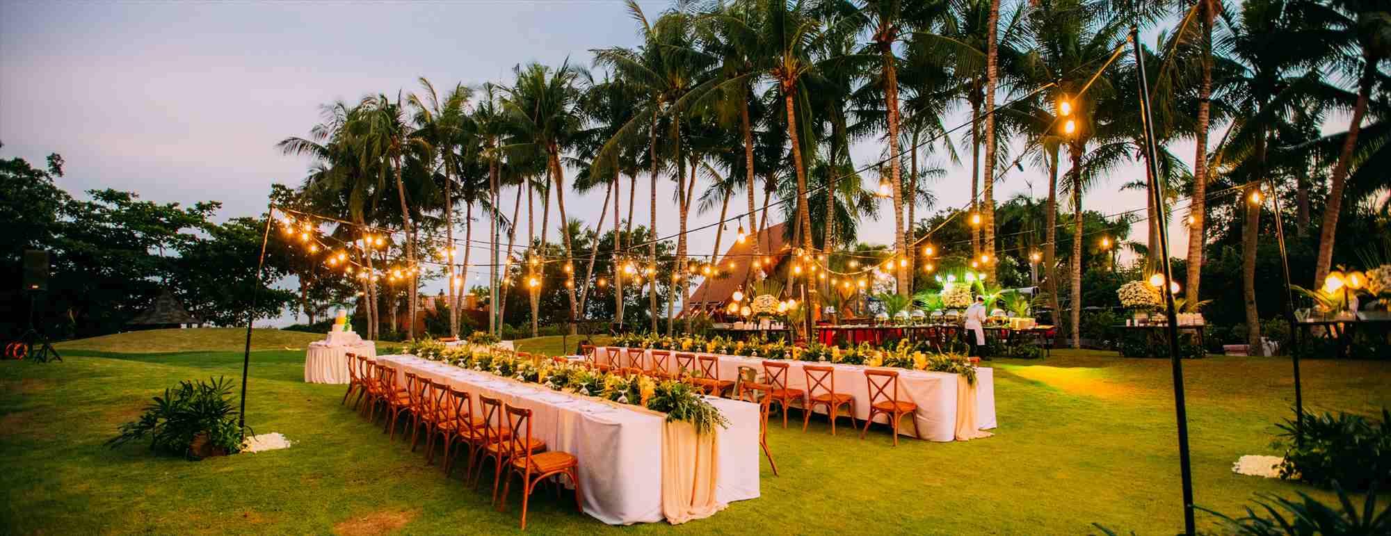 セブ島ガーデン・ウェディング・パーティーShagri-La's Mactan Resort&Spa Wedding Party~シャングリラ・マクタン・ガーデン・パーティー