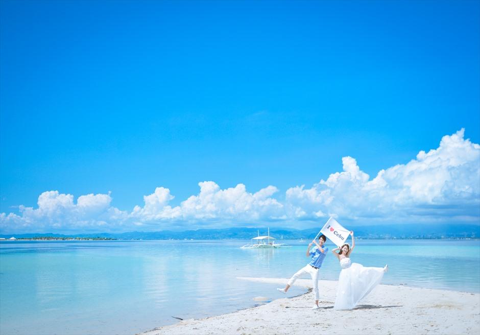 カオハガン島 ホワイトサンズ ビーチ<br /> フォトウェディング撮影