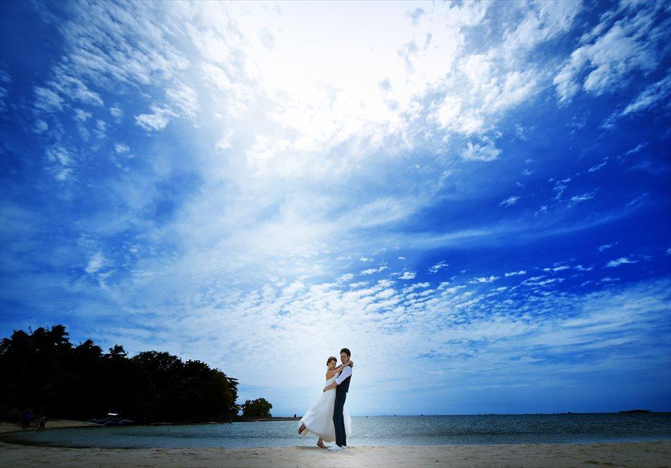 カオハガン島 ホワイトサンズ<br /> フォトウェディング撮影