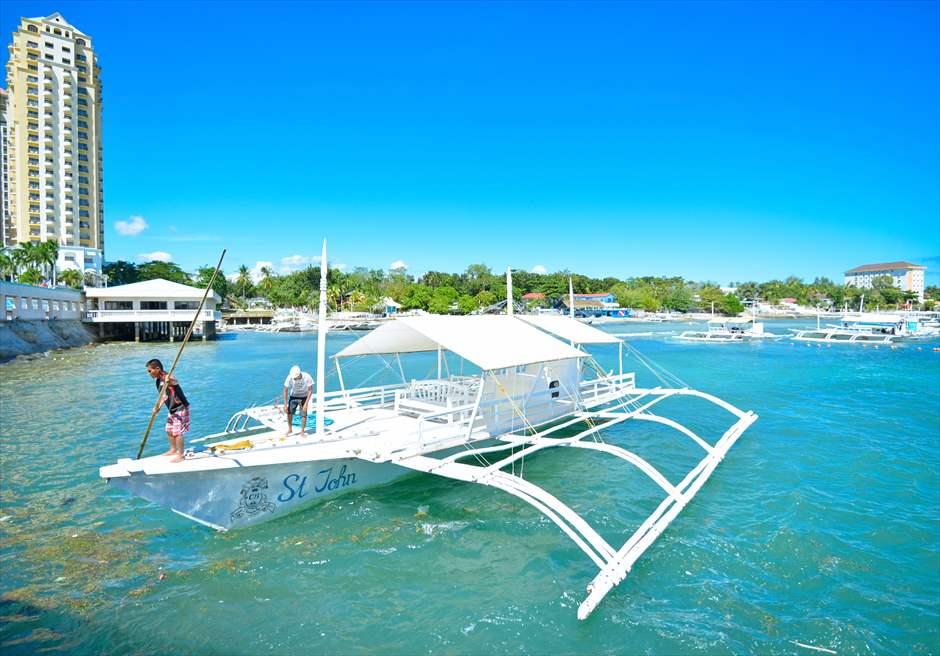 ヒルトンポートよりボートでカオハガン島へ<br /> 約40分から1時間程度かかります