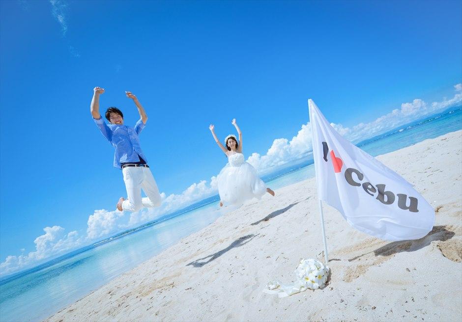 カオハガン島 パウダーサンドビーチ<br /> フォトウェディング撮影