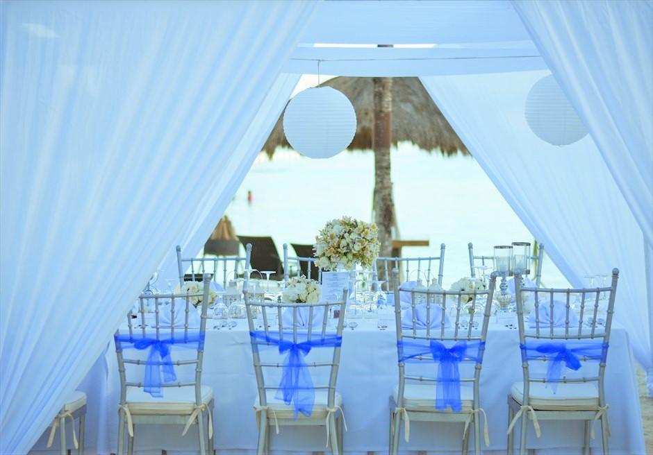 ブルーウォーター・マリバゴ セブ ウェディングパーティー装飾