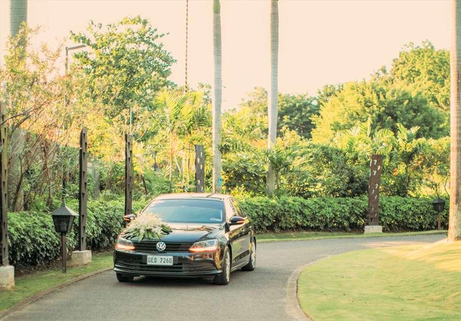 シャングリラ・マクタン・セブ・ウェディング 挙式送迎車
