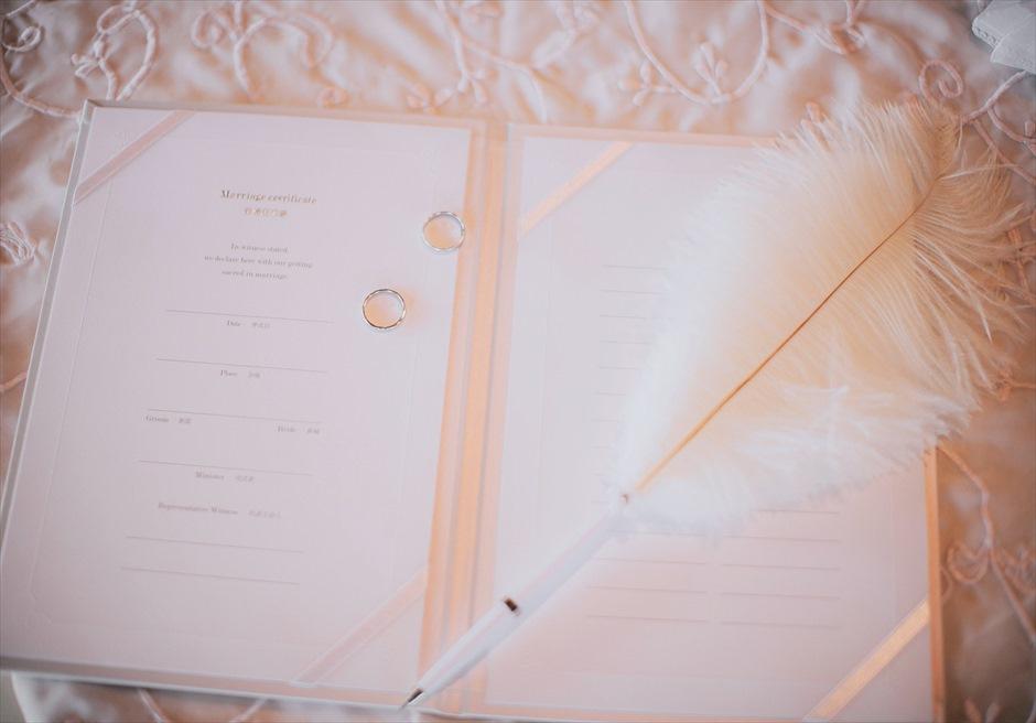シャングリラ・マクタン・セブ オーシャンパヴィリオン チャペル セブ挙式 結婚証明書