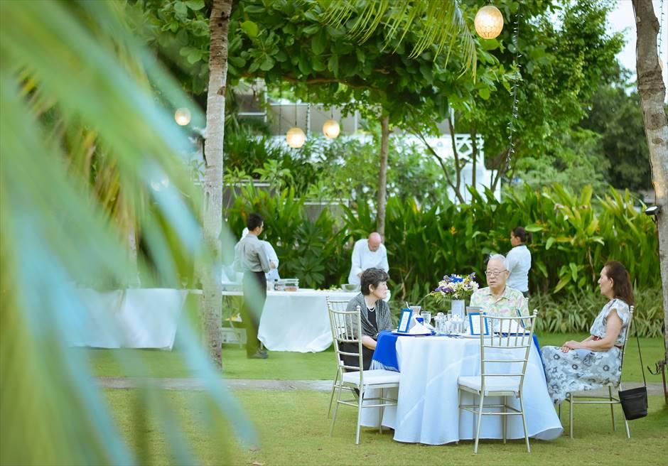 シャトー・バイ・ザ・シー 挙式パーティー会場 セブ・ガーデンパーティー セブ島ウェディングパーティー