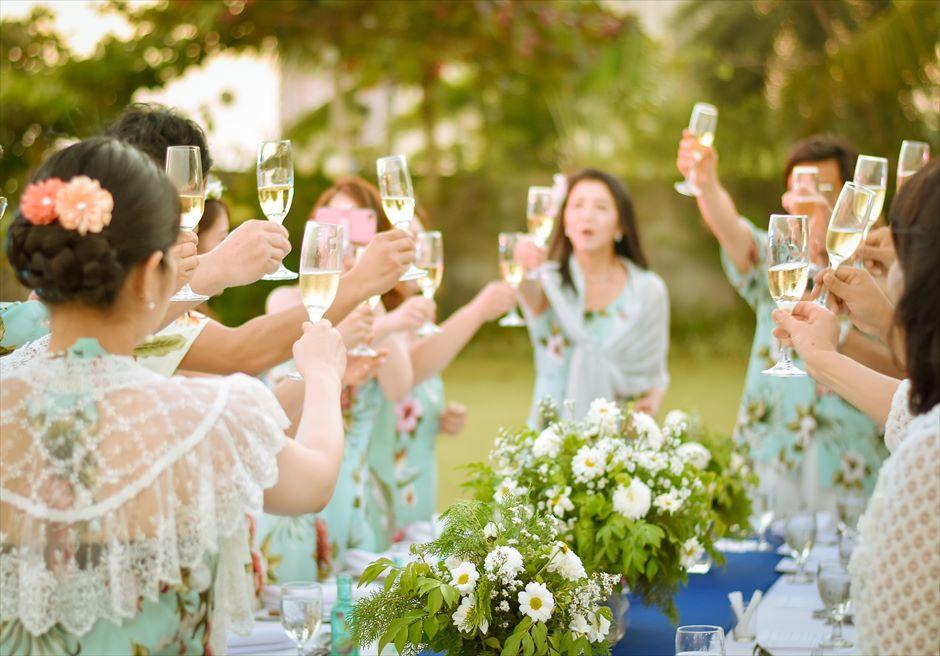 シャトー・バイ・ザ・シー 挙式パーティー会場 セブ・ガーデンパーティー セブ島ウェディングパーティー 野外セブパーティー