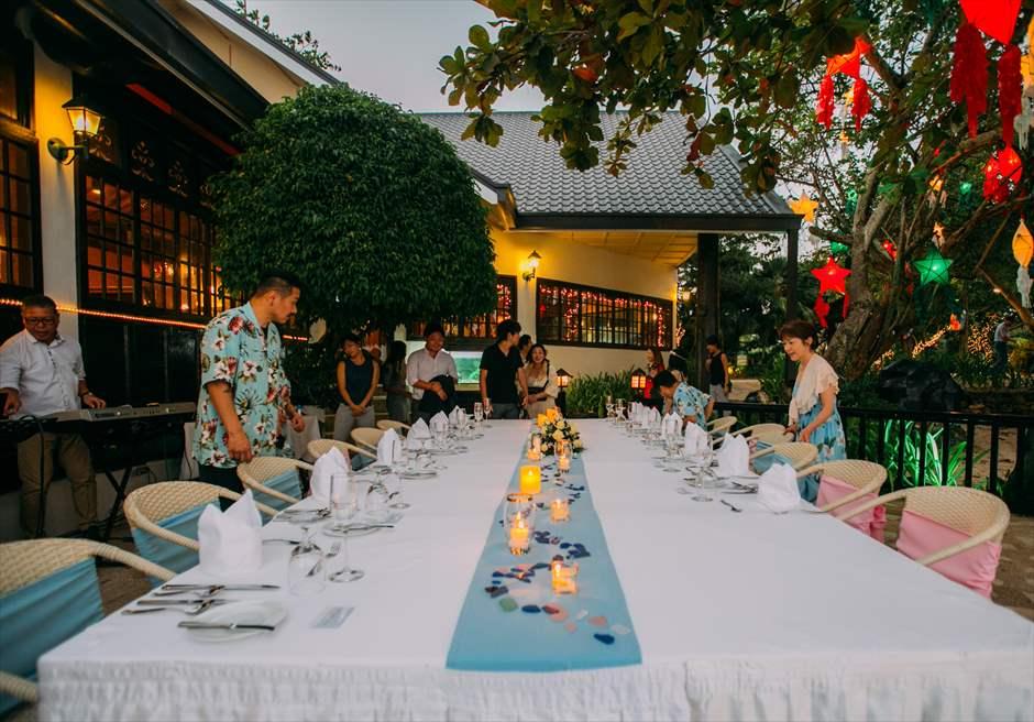 プランテーション・ベイ・リゾート&スパ・マクタン セブ・ウェディングパーティー会場 プランテーション・ウェディングパーティー セブ島挙式パーティー