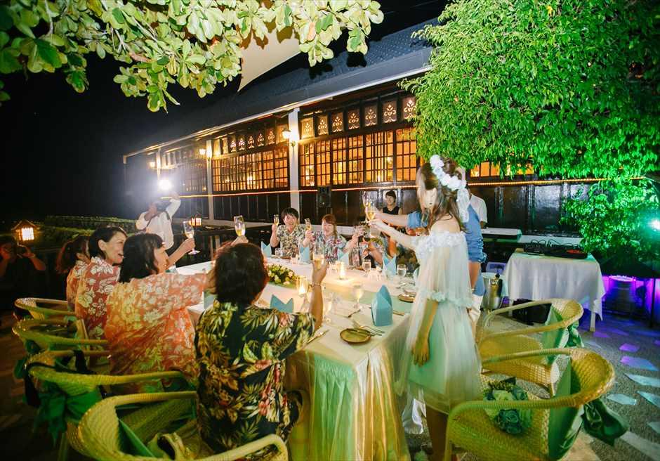 プランテーション・ベイ・リゾート&スパ・マクタン セブ・ウェディングパーティー会場 プランテーション・ウェディングパーティー 海外挙式パーティー