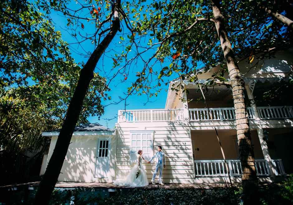 プランテーション・ベイ・リゾート&スパ・マクタン セブ島フォトウェディング セブ挙式前撮影 セブ前撮り プランテーション挙式撮影