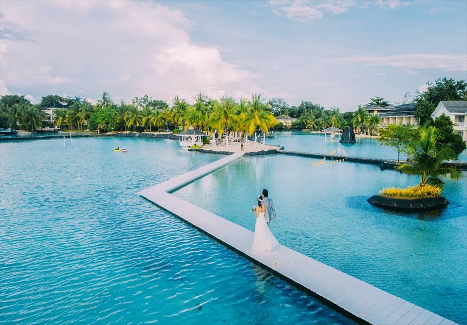 ブランテーション・ベイ・マクタン・リゾート&スパ・ウェディング セブ・プランテーション挙式 セブ島ラグーン挙式 リゾート挙式
