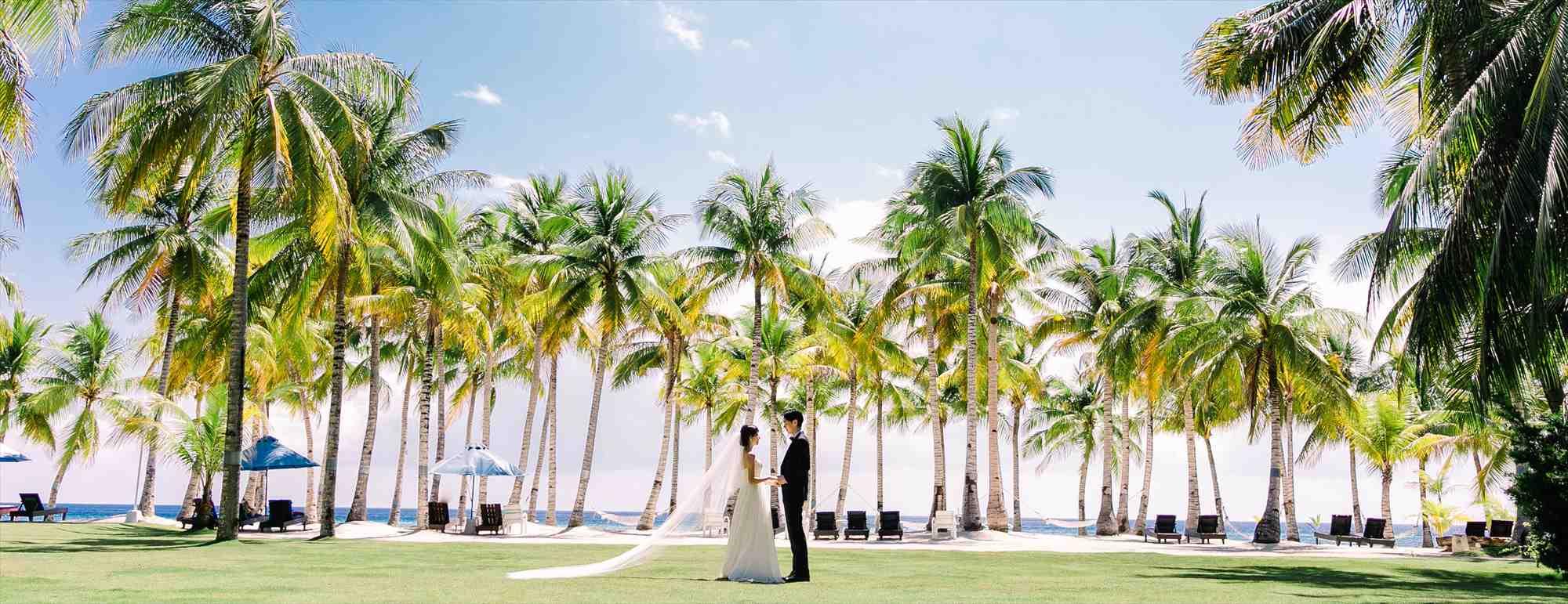 ボホール島ガーデン・ウェディング・フォトBohol Beach Club Garden Wedding Photo~ボホール・ビーチ・クラブ挙式