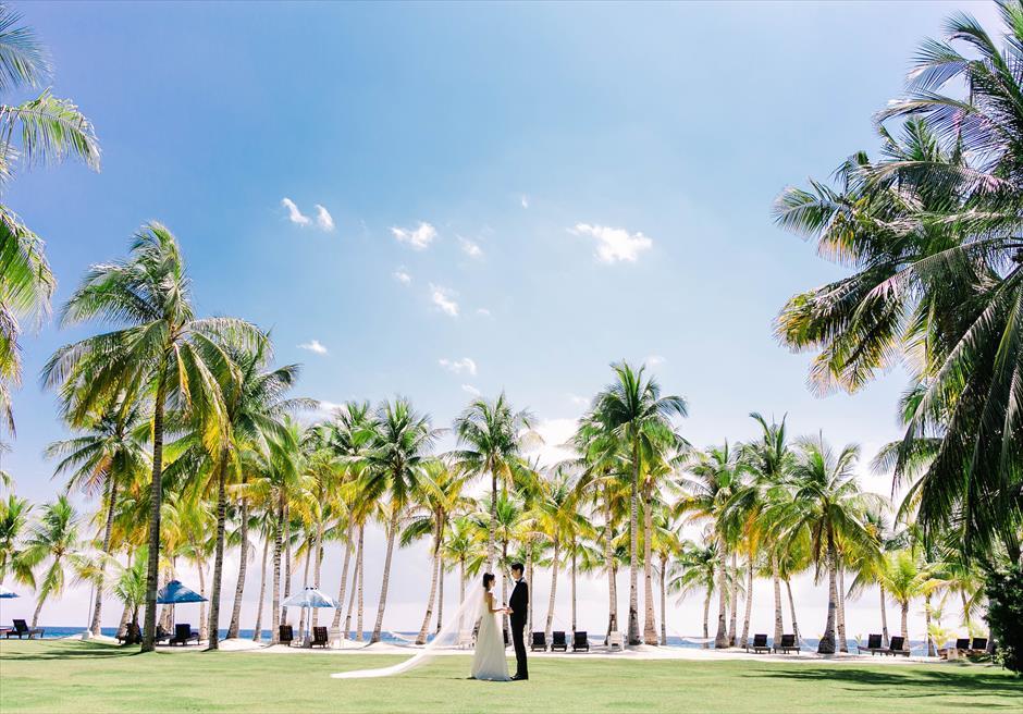 ボホール島ガーデン・ウェディング・フォト/ Bohol Beach Club Garden Wedding Photo/ ~ボホール・ビーチ・クラブ挙式
