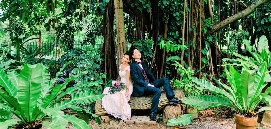 Historic Garden Wedding