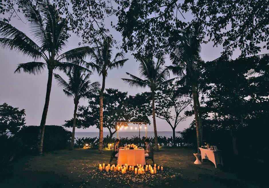 セブ島ガーデン・ロマンティック・ディナー/ Crimson Resort Garden Romantic Dinner/ ~クリムゾン・リゾート&スパ・ガーデン挙式