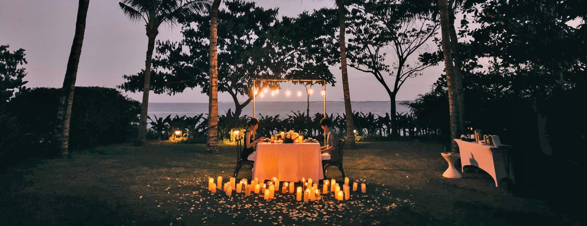 セブ島ガーデン・ロマンティック・ディナーCrimson Resort Garden Romantic Dinner~クリムゾン・リゾート&スパ・ガーデン挙式