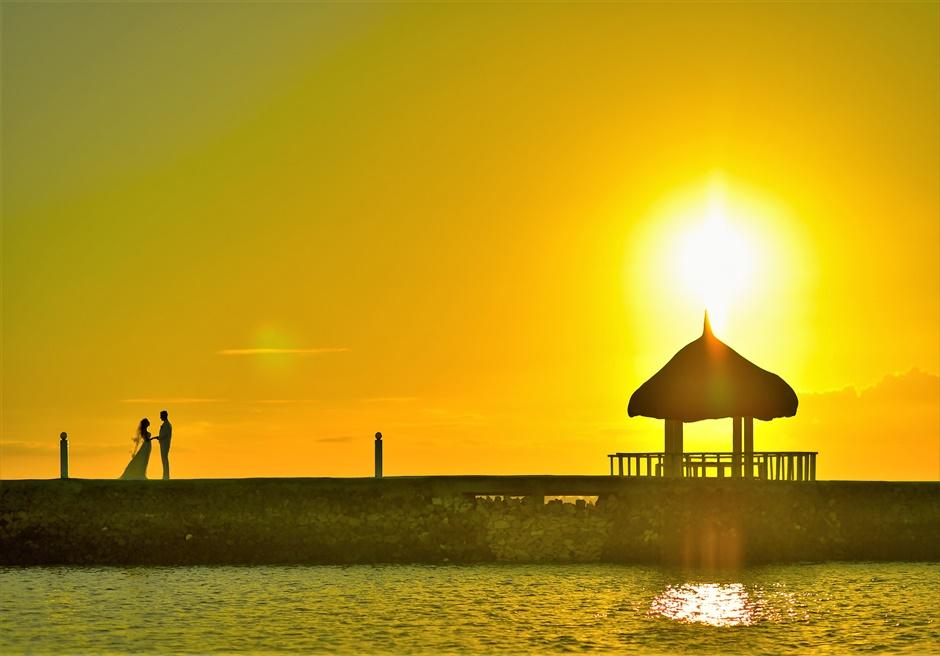 セブ島サンセット・ウェディング・フォト/ Pacific Cebu Resort Sunset Wedding/ ~パシフィック・セブ・リゾート挙式