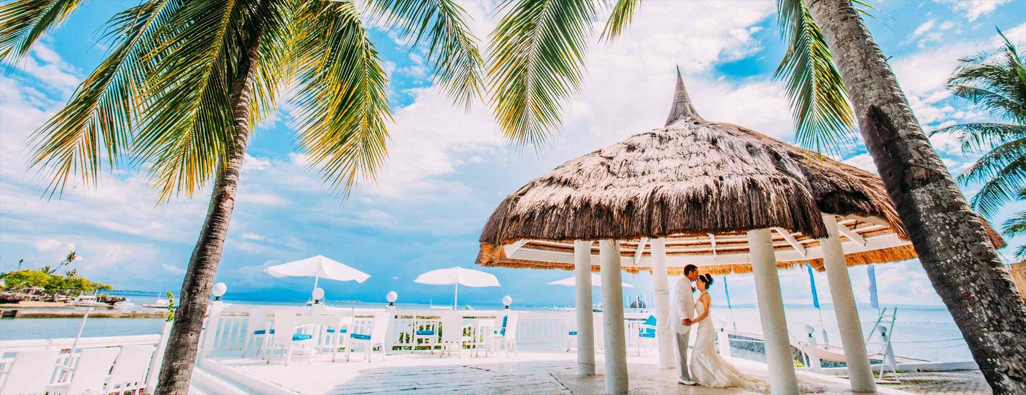 セブ島ビーチ・ガゼボ・ウェディング・フォトPacific Cebu Resort Beach Gazebo Wedding Photo~パシフィック・セブ・リゾート・ビーチ挙式