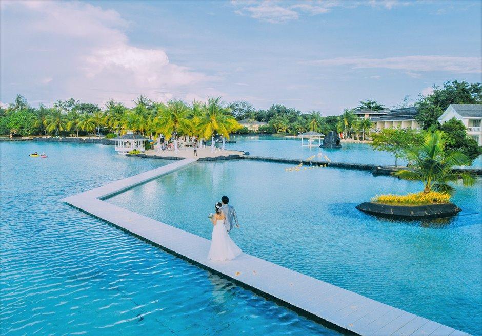 セブ島ラグーン・ウェディング/ Plantation Bay Resort&Spa Lagoon Wedding/ ~プランテーション・ベイ・ラグーン挙式