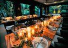 アバカ・ブティック・リゾートウェディングパーティー ウェディングパーティー テーブル装飾全景