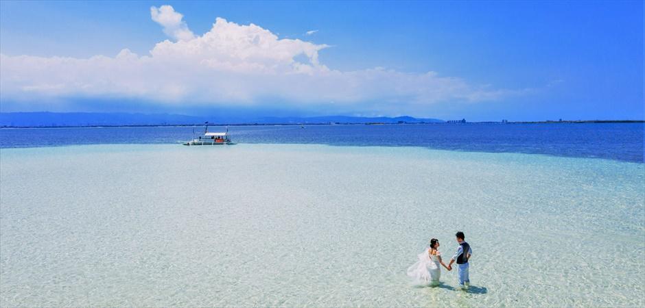 アジア随一の美しい海と白い砂洲