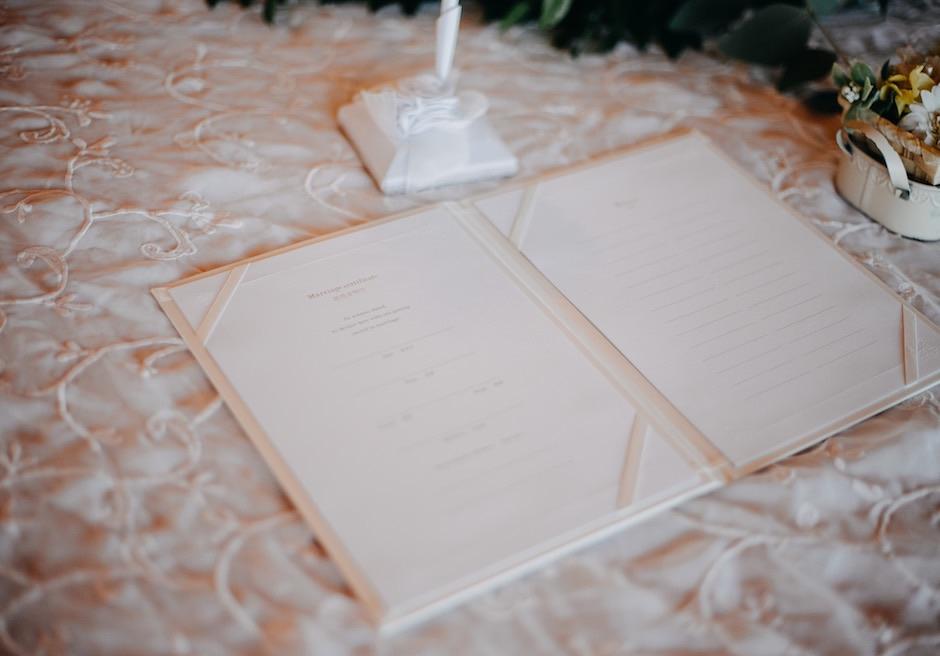 カノン・セブ・オリジナル<br /> オーシャンパビリオン・チャペルウェディング<br /> 結婚証明書