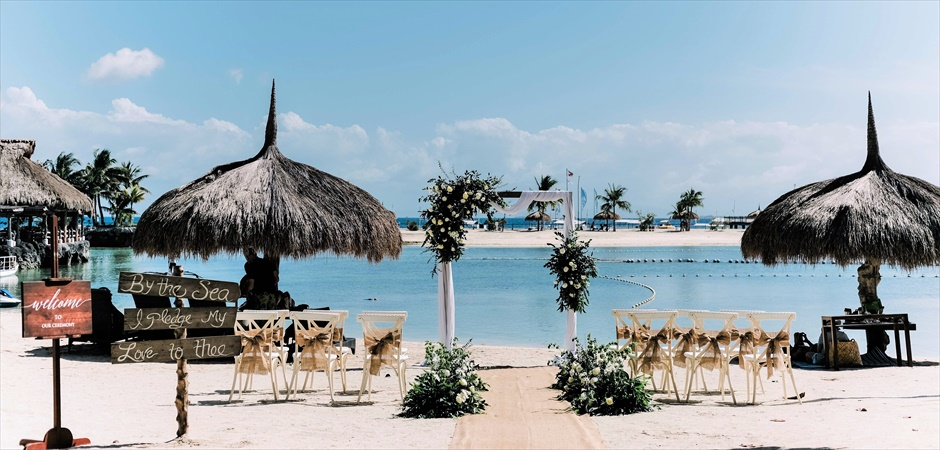 Bloom Island Beach Wedding