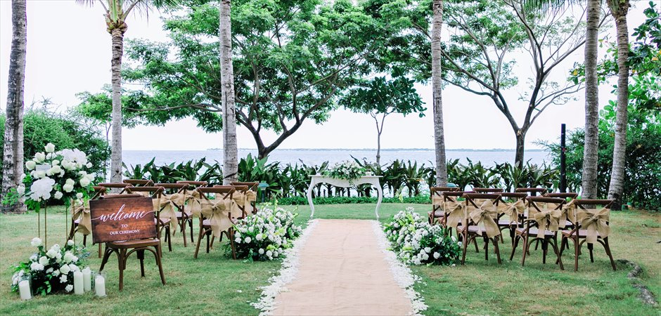 Natural Wedding at Villa Garden