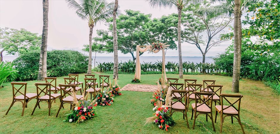 Boho Wedding at Villa Garden