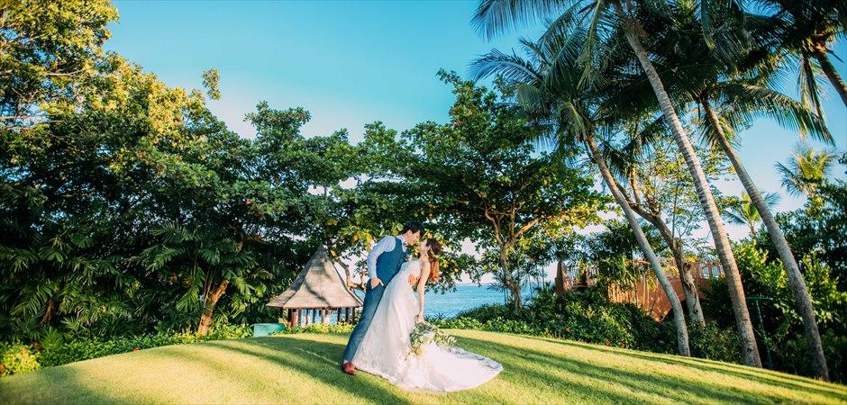 Rustic Wedding at Helipad Oceanfront Garden