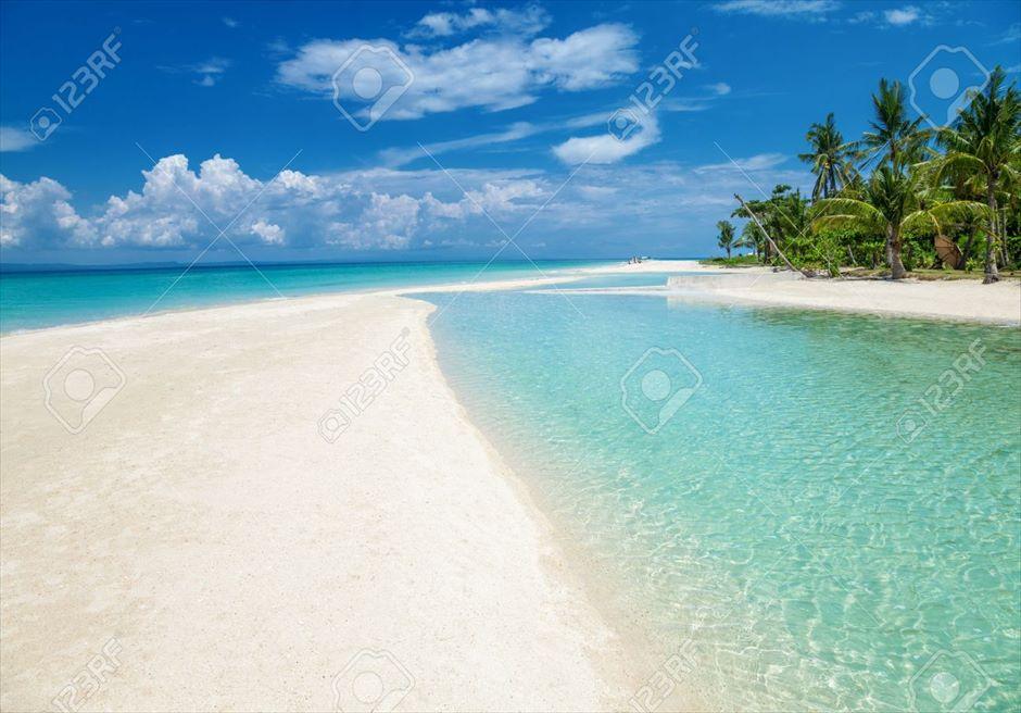 フィリピン・セブ島旅行 バンタヤン島ビーチ