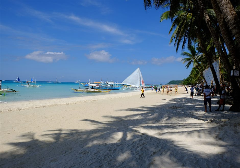 セブ島旅行 ボラカイ島 ホワイトサンド・ビーチ