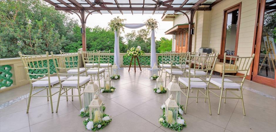 Colonial Wedding at Casa Dos Terrace