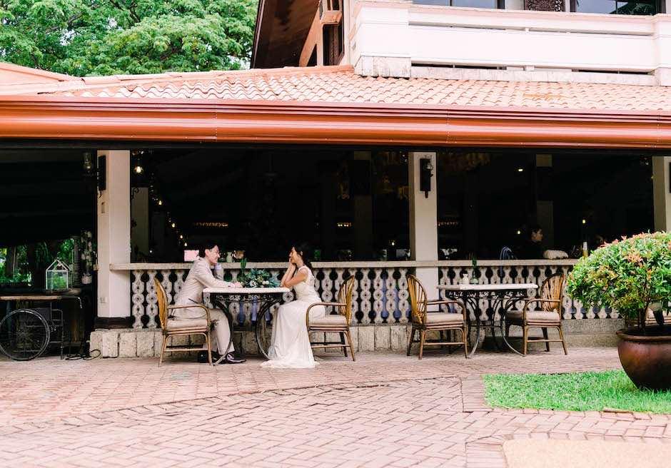 コスタベラ・トロピカル・ビーチ・ホテルホテル内レストランにてフォトウエディング