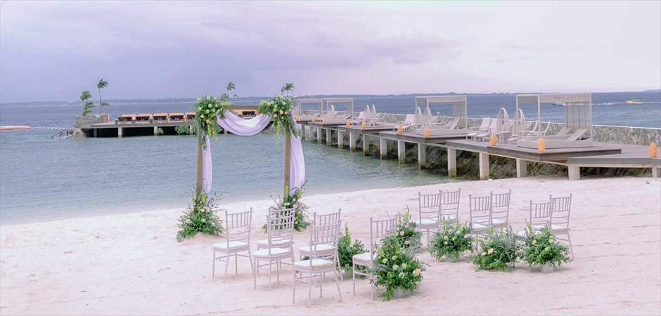 Natural Wedding at Tropical Beach