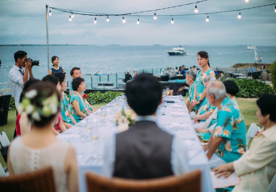 セブ島ウェディング クリムゾン・リゾート & スパ・マクタン ガーデンパーティー
