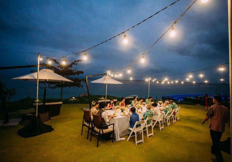 セブ・結婚式 クリムゾン・リゾート & スパ・マクタン ナイトパーティー