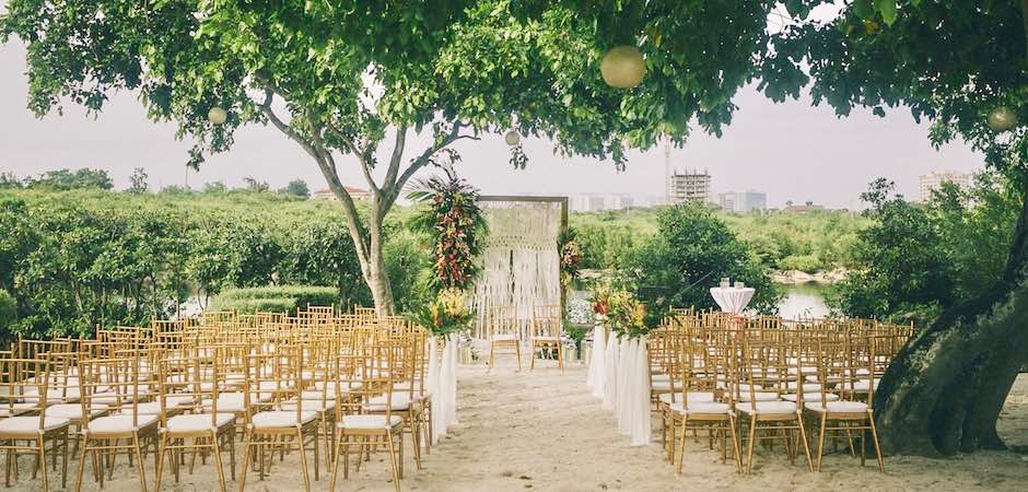 House Wedding at Climaco White Sands Garden