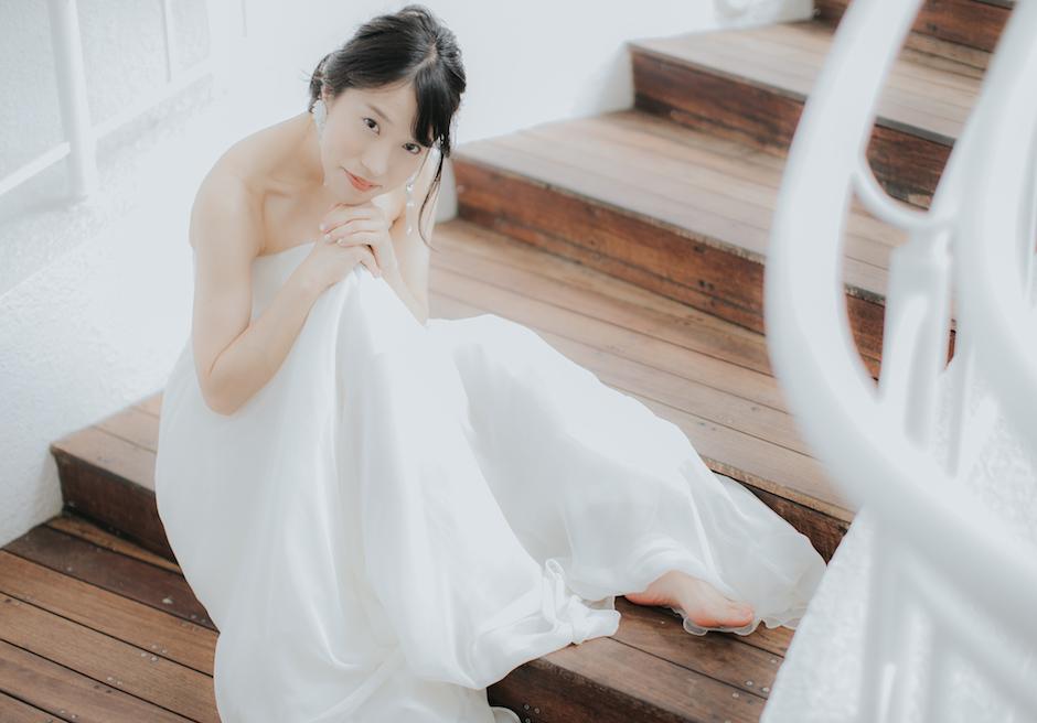 セブ島挙式の花嫁の撮影