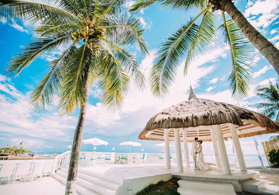 セブ島・結婚式 パシフィック・セブ・リゾート ガゼボ