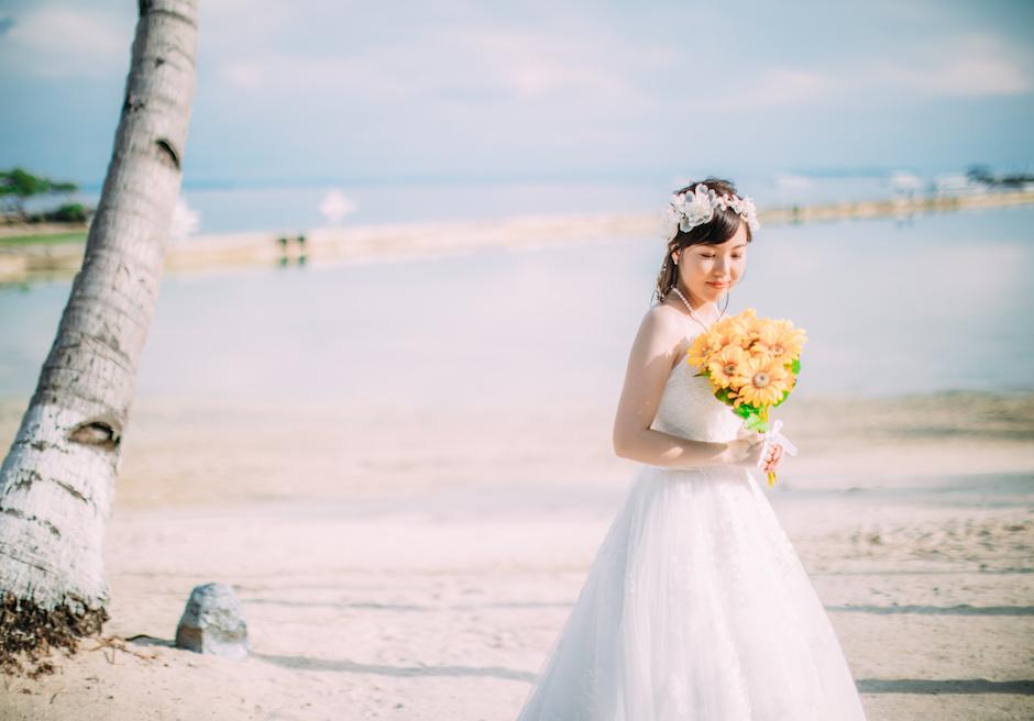 セブ島ウェディング パシフィック・セブ・リゾート 花嫁